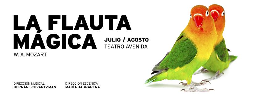 Juventus Lyrica presenta «La Flauta Mágica» en el Teatro Avenida