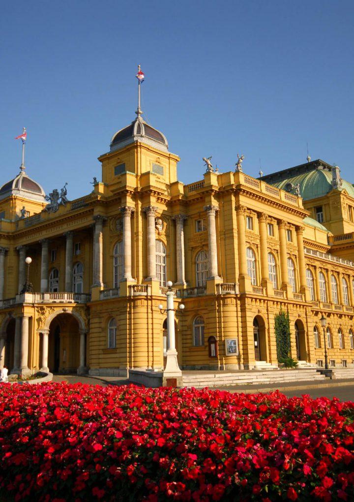 Teatros Post Pandemia: Teatro Nacional de Croacia, en Zagreb